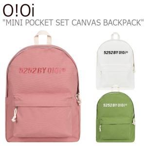オアイオアイ リュックサック O!Oi メンズ レディース MINI POCKET SET CANVAS BACKPACK ミニ ポケット セット キャンバス バックパック 20FA_2D_95/6/7 バッグ|nuna-ys