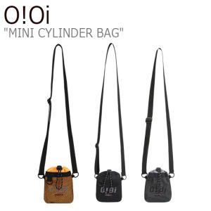 オアイオアイ クロスバッグ O!Oi メンズ レディース MINI CYLINDER BAG ミニ シリンダー バッグ ORANGE BLACK GREY 20SM_77/8/9 バッグ|nuna-ys