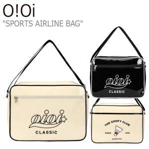 オアイオアイ スポーツバッグ O!Oi メンズ レディース SPORTS AIRLINE BAG スポーツ エアライン バッグ IVORY BLACK アイボリー ブラック 20SP_70/1 バッグ|nuna-ys