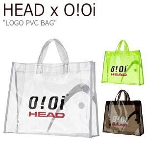 オアイオアイ クリアバッグ HEAD X 5252 by O!Oi メンズ レディース LOGO PVC BAG ヘッド ロゴ PVCバッグ KDBSX19202YEX/BKX/WHX バッグ|nuna-ys