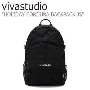 ビバスタジオ リュック vivastudio メンズ レディース HOLIDAY CORDURA BACKPACK JS ホリデー コーデュラ バックパック BLACK ブラック JSVA03 バッグ|nuna-ys
