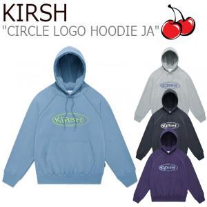 キルシー パーカ KIRSH メンズ レディース CIRCLE LOGO HOODIE JA サイクル ロゴ フーディー 4色 JAKT10 ウェア|nuna-ys