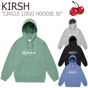 キルシー パーカ KIRSH CIRCLE LOGO HOODIE JS サークル ロゴ フーディー BLUE ブルー GREEN グリーン GRAY グレー BLACK ブラック JSKT12 ウェア|nuna-ys