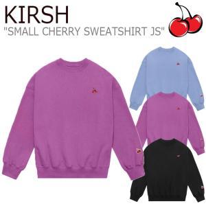 キルシー トレーナー KIRSH メンズ レディース SMALL CHERRY SWEATSHIRT JS スモール チェリー スウェットシャツ 全3色 JSKT26 CNTS0EL28BK/U2/B2 ウェア|nuna-ys