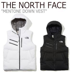 ノースフェイス ダウン THE NORTH FACE メンズ レディース MENTONE DOWN VEST メントーン ダウンベスト BLACK ブラック WHITE ホワイト NV1DK51J/K ウェア|nuna-ys