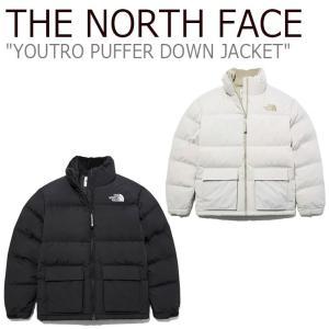 ノースフェイス ダウン THE NORTH FACE YOUTRO PUFFER DOWN JACKET ユートロ パッファ ダウンジャケット BEIGE ベージュ BLACK ブラック NJ1DL59J/K ウェア|nuna-ys