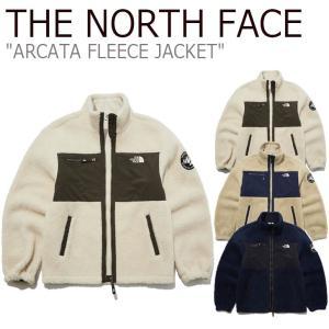 フリース ノースフェイス THE NORTH FACE ARCATA FLEECE JACKET アルカータ フリースジャケット NAVY CREAM CAMEL NJ4FL57J/K/L ウェア|nuna-ys