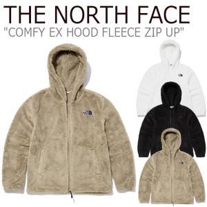 フリース ノースフェイス THE NORTH FACE COMFY EX HOOD FLEECE ZIP UP コンフィー EX フード フリースジップアップ CAMEL IVORY BLACK NJ4FL61J/K/L ウェア|nuna-ys