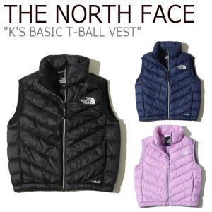 ノースフェイス ベスト THE NORTH FACE 男の子 女の子 K'S BASIC T-BALL VEST ベーシック ティーボールベスト BLACK NAVY LAVENDER NV3NK50S/T/U ウェア|nuna-ys