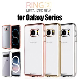 Galaxy S7 edge,Galaxy S6 edge ケースカバー RING 2 CASE COVER TPU ケースカバー SC-02H SCV33 SC-04G SCV31 スマホケース