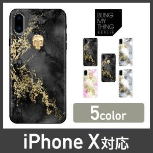 iPhone X ケース スワロフスキー Bling My ...