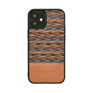iPhone 12 mini ケース 木製 Man&Wood レッドガム スマホケース iphoneケース カバー スマホカバー お取り寄せ|nuna-ys