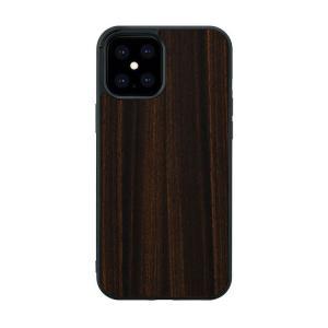 iPhone 12 Pro Max ケース 木製 Man&Wood エボニー スマホケース iphoneケース カバー スマホカバー お取り寄せ|nuna-ys