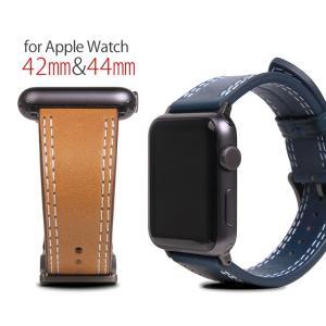 お取り寄せ Apple Watch バンド 本革 アップルウォッチ Series 1/ 2/ 3 (...