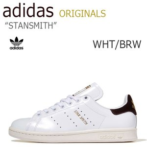adidas STAN SMITH/White/Brown【アディダス】【スタンスミス】【BA741...