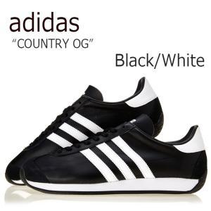アディダス カントリーOG メンズ レディース adidas COUNTRY OG CNTRY CORE BLACK FTWR WHITE CORE BLACK ブラック ホワイト S81861 スニーカー シューズ|nuna-ys
