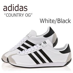 アディダス カントリーOG メンズ レディース adidas COUNTRY OG CNTRY FTWR WHITE CORE BLACK FTWR WHITE ホワイト ブラック S81862 スニーカー シューズ|nuna-ys