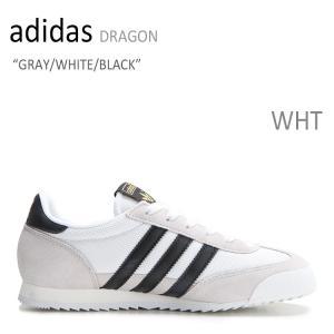 adidas DRAGON GRAY WHITE BLACK アディダス S81909 シューズ スニーカー シューズ|nuna-ys