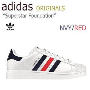 adidas Superstar Foundation NVY RED スーパースター アディダス トリコロール S79208 シューズ スニーカー シューズ|nuna-ys