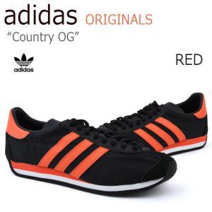 アディダス カントリーOG メンズ レディース adidas COUNTRY OG CNTRY RED レッド S79105 スニーカー シューズ|nuna-ys