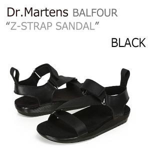 ドクターマーチン サンダル Dr.Martens メンズ レディース Balfour Z-Strap バルフォア Zストラップ Black ブラック16580001 21702001 シューズ|nuna-ys