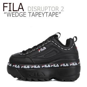 フィラ ディスラプター スニーカー FILA レディース DISRUPTOR 2 WEDGE TAP...