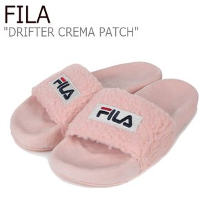 フィラ サンダル FILA レディース DRIFTER CREMA PATCH ドリフター クレマ パッチ PINK ピンク 1SM00817-661 シューズ|nuna-ys