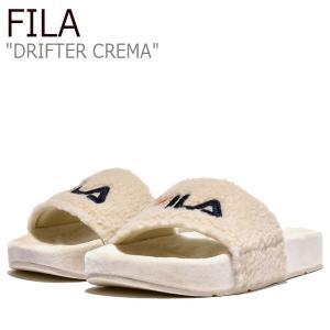 フィラ サンダル FILA レディース DRIFTER CREMA ドリフター クレマ BEIGE ベージュ 1SM00820-920 シューズ|nuna-ys