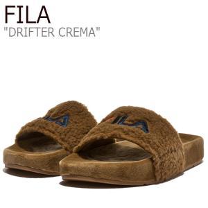 フィラ サンダル FILA レディース DRIFTER CREMA ドリフター クレマ BROWN ブラウン 1SM00820-926 シューズ|nuna-ys