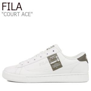 フィラ スニーカー FILA メンズ レディース Project 7 COURT ACE プロジェクト 7 コート エース WHITE ホワイト GREEN グリーン 1XM01182-324 シューズ|nuna-ys