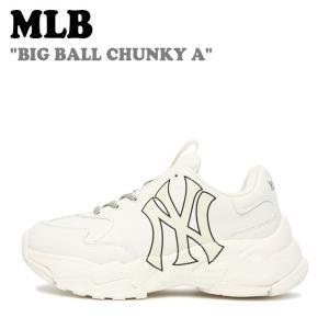 エムエルビー スニーカー MLB BIG BALL CHUNKY A ビッグボールチャンキー NEW YORK YANKEES ヤンキース WHITE 32SHC1911/41-50I 32SHC1011-50I シューズ nuna-ys