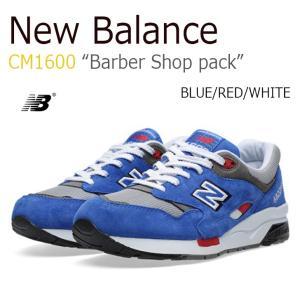New Balance CM1600 Barber Shop pack BLUE RED WHITE ニューバランス CM1600BB シューズ スニーカー シューズ|nuna-ys