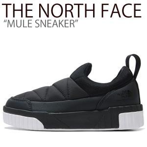 ノースフェイス スニーカー THE NORTH FACE メンズ レディース MULE SNEAKER ミュール スニーカー BLACK ブラック NS93K54A/J シューズ|nuna-ys