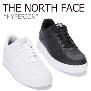 ノースフェイス スニーカー THE NORTH FACE メンズ レディース HYPERION ハイペリーオーン WHITE ホワイト BLACK ブラック NS93L61J/K シューズ nuna-ys