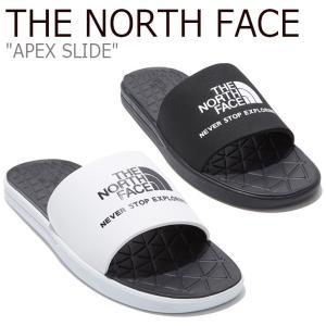 ノースフェイス スリッパ THE NORTH FACE メンズ レディース APEX SLIDE エイペックス スライド BLACK ブラック WHITE ホワイト NS98L09J/K シューズ|nuna-ys