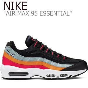 ナイキ エアマックス スニーカー NIKE メンズ AIR MAX 95 ESSENTIAL エア マックス 95 エッセンシャル BLACK ブラック AT9865-002 FLNK9F3M16 シューズ|nuna-ys