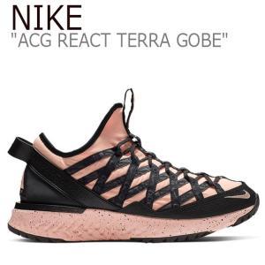 ナイキ スニーカー NIKE メンズ ACG REACT TERRA GOBE ACG リアクト テラ ゴービー PINK ピンク BLACK ブラック BV6344-800 シューズ|nuna-ys