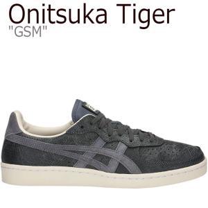 オニツカタイガー スニーカー Onitsuka Tiger GSM OUROBOROS PACK ジーエスエム ウロボロスパック DARK GREY ダークグレー 1183A179-021 シューズ nuna-ys