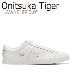 オニツカタイガー スニーカー Onitsuka Tiger メンズ レディース LAWNSHIP 3.0 ローンシップ 3.0 WHITE ホワイト 1183A568-100 シューズ nuna-ys