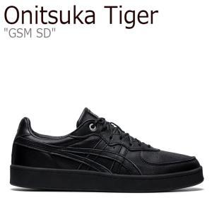 オニツカタイガー スニーカー Onitsuka Tiger メンズ レディース GSM SD ジーエスエム エスディー BLACK ブラック 1183B403-001 シューズ nuna-ys