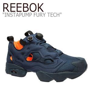 Reebok INSTAPUMP FURY TECH ポンプフューリー ネイビー シューズ スニーカー シューズ|nuna-ys