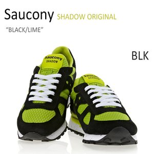 Saucony Shadow Original BLACK LIME サッカニー シャドウ S70239-1 シューズ スニーカー シューズ|nuna-ys