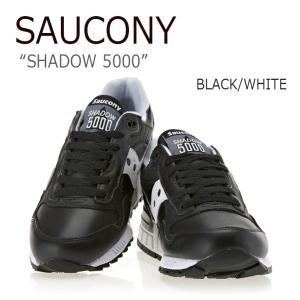 サッカニー Saucony メンズ レディース SHADOW 5000 シャドウ5000 BLACK WHITE ブラック ホワイト S70220-1 スニーカー シューズ|nuna-ys