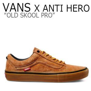 バンズ オールドスクール スニーカー VANS X ANTI HERO メンズ OLD SKOOL ...