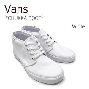 VANS CHUKKA BOOT white バンズ チャッカブーツ ホワイト VN-0EGTW00 シューズ スニーカー シューズ|nuna-ys