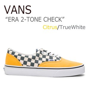 VANS ERA 2-TONE CHECK Citrus T...