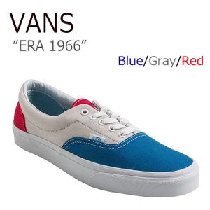VANS ERA 1966 Blue Gray Red バン...