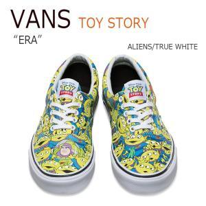 Vans TOY STORY ERA ALIENS TRUE WHITE バンズ エラ トイストーリー エイリアン VN0A32R8M4U シューズ スニーカー