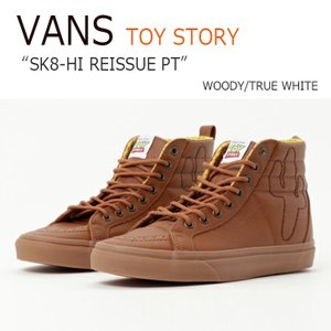 Vans TOY STORY SK8-HI REISSUE PT WOODY TRUE WHITE バンズ スケートハイ トイストーリー ウッディ VN0A2XS3M4Z シューズ スニーカー シューズ