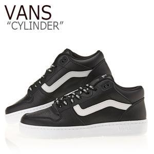 バンズ スニーカー VANS メンズ CYLINDER シリンダー BLACK WHITE ブラック ホワイト V2202 シューズ|nuna-ys